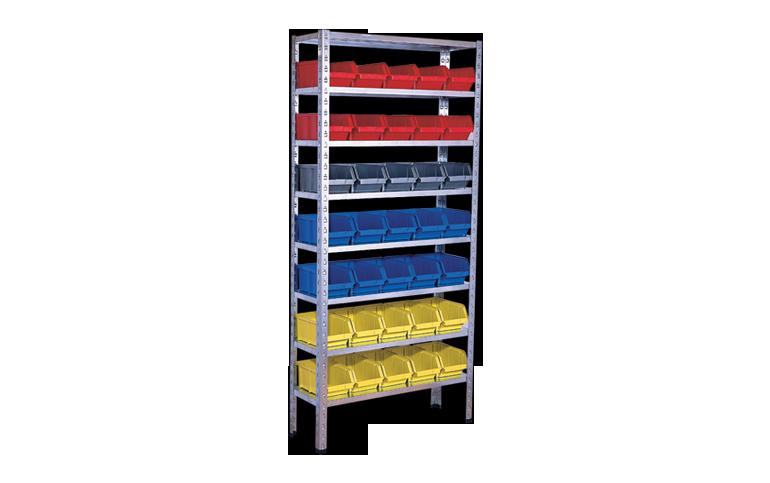 ящики для хранения товаров на складе